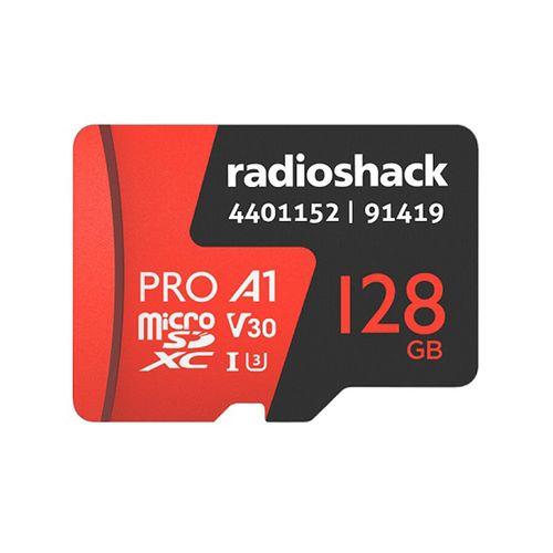 Memoria Micro SDXC Clase 10 U3 128GB Radioshack - Especial para cámaras de acción, Graba en 4K