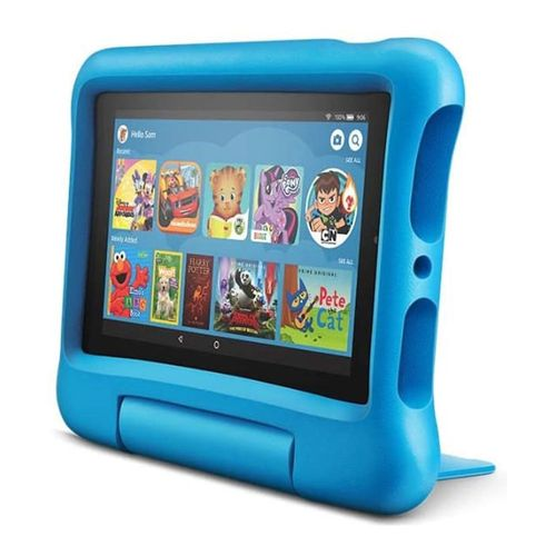 "Tablet Kids Amazon Fire 7"", pantalla ips, 16gb, procesador 1.3 ghz 4 nucleos, ram 1gb, camaras 2mp, azul"