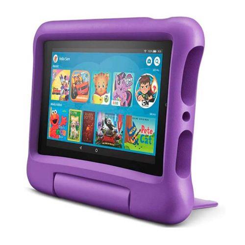 "Tablet kids Amazon Fire 7"", pantalla ips, 16gb, procesador 1.3 ghz 4 nucleos, ram 1gb, camaras 2mp, morado"