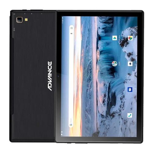 "Tablet Advance SmartPad, pantalla 10.1"" FHD, SO Android 10, 4G, procesador 2.0GHz Octa-Core,Ram 4GB, Rom 32GB, cámara posterior 5MP,frontal 2MP, negro"