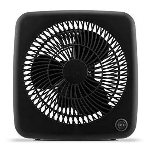 Ventilador Personal de 18cm, 2 Velocidades, Color Negro