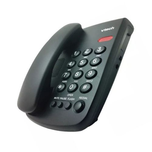 Teléfono alámbrico VTC100 Negro