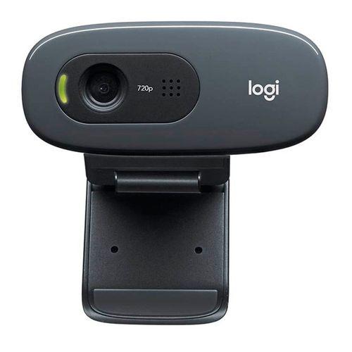 Webcam C270 Para Videoconferencias, HD 720p, Plug and Play