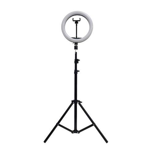 """Aro de luz 10"""" (26cm), trípode 160 cm y control bluetooth"""