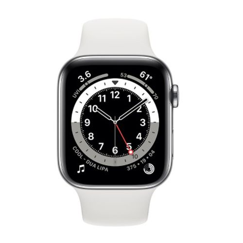 Smartwatch Apple Watch Series 6 Con Gps, pantalla retina 40Mm, llamadas manos libres, wifi y bluetooth - blanco silver
