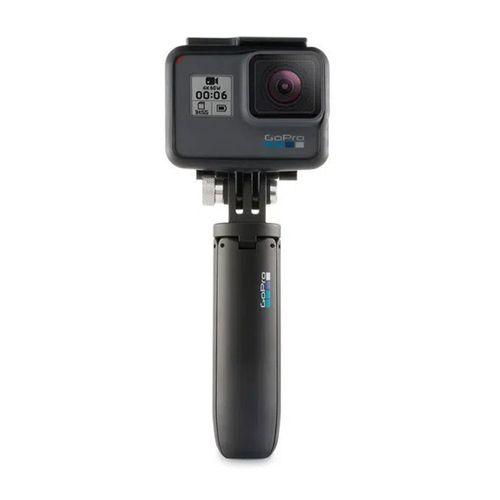 Mini selfie stick Gopro Pole función trípode, hasta 22.7 cm, compatible con todas las versiones GoPro, negro