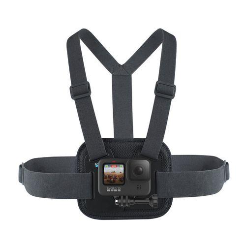 Soporte arnés GoPro Chesty para pecho, compatible con todas las GoPro, negro