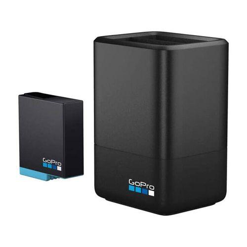Cargador de Batería Dual + Batería para GO PRO Hero 8 Black. Carga 2 baterías al mismo tiempo!