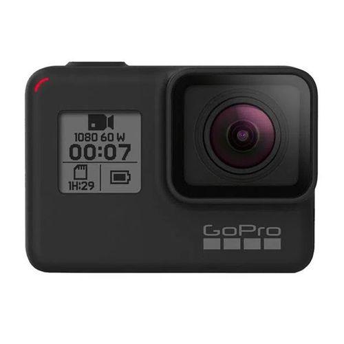 Hero7 Black - Cámara de acción resistente al agua con pantalla táctil 4K Ultra HD Video 12MP y estabilizador de imagen en vivo