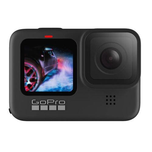 Hero9 Black - Cámara de acción resistente al agua, Pantalla frontal LCD y trasera táctil, Videos 5K30 + 4K60, Time Lapse, Fotos 20MP, HyperSmooth 3.0