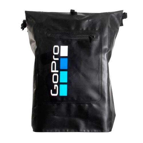 Mochila Impermeable GO PRO con capacidad de 30 Litros, Espalda acolchada, Correas con broches en cintura y cadera.