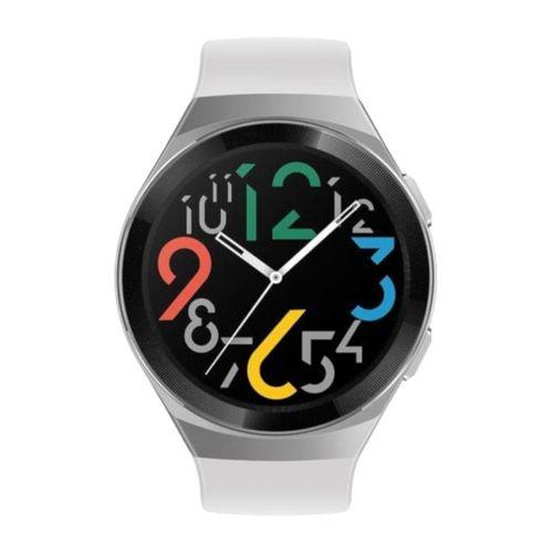 Smartwatch Huawei GT 2E, pantalla amoled, 85 modos de entrenamiento, GPS, 4GB memoria, compatible Android e IOS, blanco