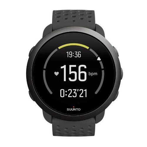 SmartwatchSunnto 3,GPS con sensor de frecuencia cardíaca,más de 80 modos de deporte, registro de actividad diaria, hasta 10 días de bateria,slate grey