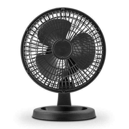 Mini Ventilador 15 cm Negro