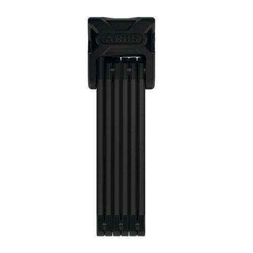 Candado Plegable Bordo 6000/90 BLACK SH, 6 barras de 5mm conectadas con remaches especiales, bloqueo con llave
