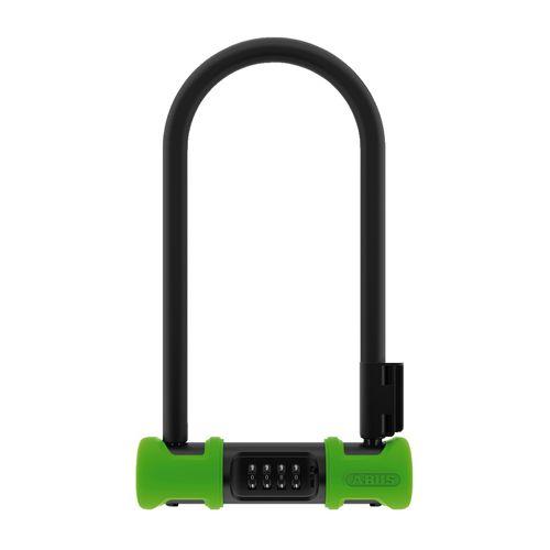 Candado en U Ultra Combo 410/170HB230 verde, bloqueo con combinación de 4 dígitos