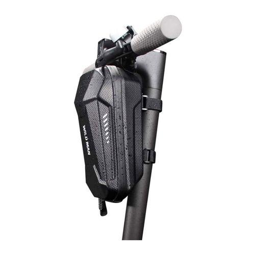 Bolso para scooter/bicicleta Wildman impermeable, 2 litros, correas ajustables y cierre