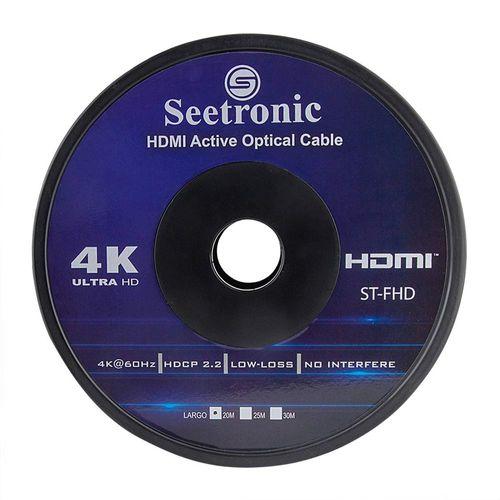 Cable HDMI Seetronic V 2.0, 20M, 4K