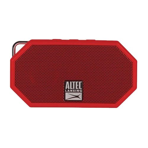 Mini parlante bluetooth Altec Lansing H2o 2 IP67, máx. 6 horas, rojo
