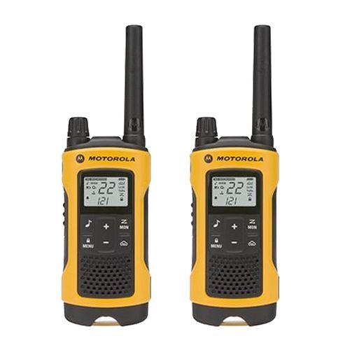 Walkie Talkie Radio FRS TalkAbout T400 - 2 radios, 2 vias, 14 canales, alcance 35KM