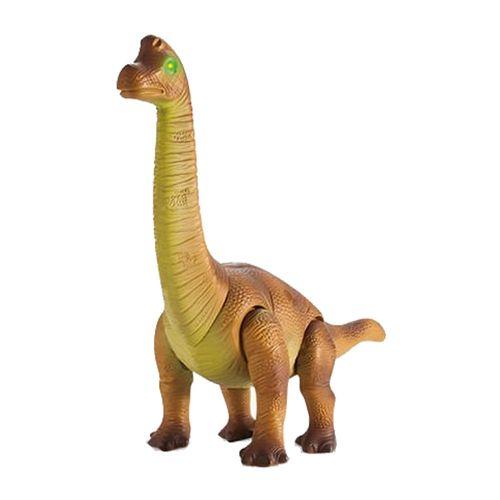 Braquiosaurio a Control Remoto, Dinosaurio con Efectos de Luz y Sonidos, Camina Hacia Adelante, Mueve la Cabeza