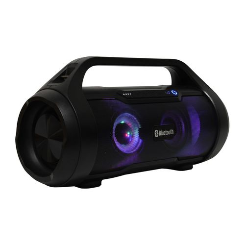Parlante bluetooth Decibel Syncro con subwoofer, led, IPX5, 40W