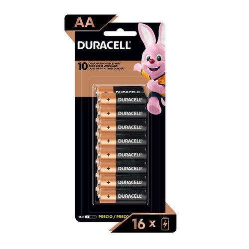 Duracell Pila Alcalina AA X 16