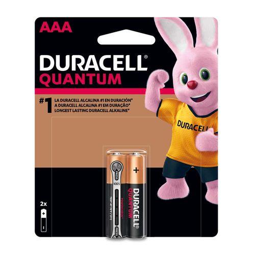 Pila Duracell QUANTUM AAA x 2