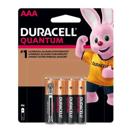 Pila Duracell QUANTUM AAA X 4
