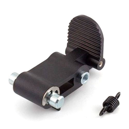 Pedal para plegado de repuesto para scooter Ninebot ES2 y ES4 color negro, dimensiones: 100x32 mm