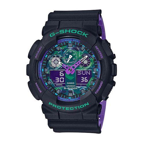 Reloj G-SHOCK GA-100BL-1A Resina y Aluminio Hombre - Negro
