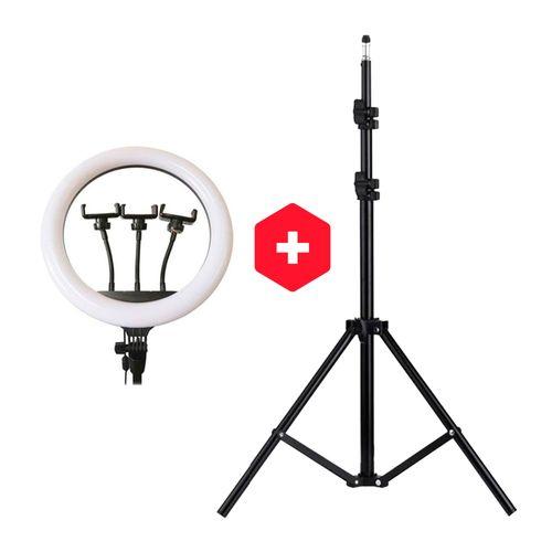 Kit Aro de luz 36 cm + Tripode de 2.10 mt