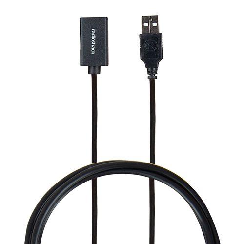 Cable extensión Radioshack usb 2.0, 1.8 m