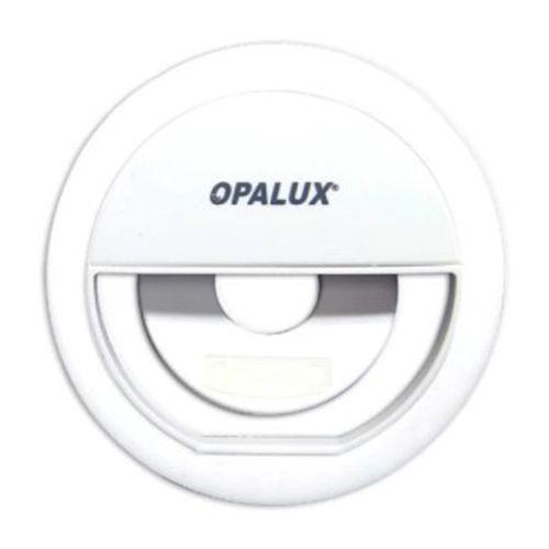 Aro de luz led para para celular, 3 niveles de brillo, batería de litio recargable, 36 led 3w - blanco