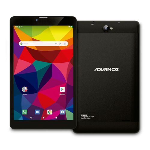 "Tablet Smartpad SP4872, pantalla 8"", Android 10, 16GB, 2GB RAM, 4000 mAh - negro"