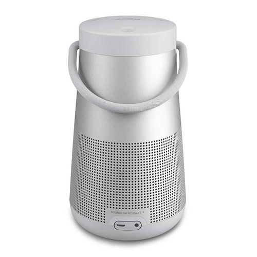 Altavoz bluetooth SoundLink Revolve Plus audio 360° con asa Silver