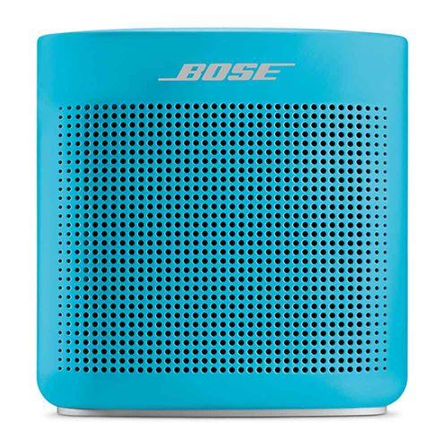 Altavoz bluetooth Soundlink Color II, resistente al agua IPX4, cuerpo de silicona suave al tacto, Azul
