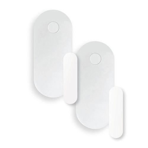 Kit de 2 Sensores de Apertura de puerta con conexión Bluetooth