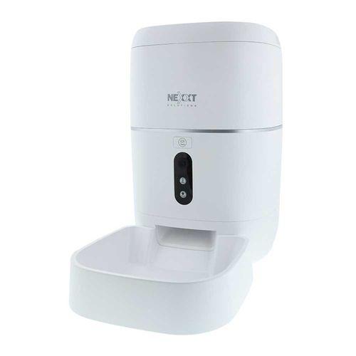 Dispensador Smart de alimento para mascotas, cámara 1080P y visión nocturna, capacidad de hasta 1.59kg de comida seca, con dosis entre 10g y 70g