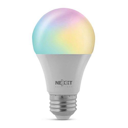 Foco LED inteligente Wi-Fi 220V, Tipo de Bombilla A19 RGB, 9W, Luces multicolor
