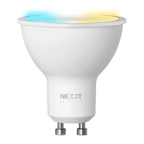 Foco Diacroico LED inteligente Wi-Fi 220V, Tipo de Bombilla MR16,Luz blanca y cálida, Puede regular intensidad