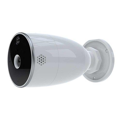 Cámara fija WiFi Smart para exteriores, 2 MP, FHD, 1080P, ángulo de visión 85°, IP65, a pilas o cable, Audio bidireccional, Incluye Accesorios