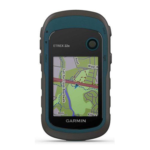 Navegador GPS y glonass Garmin Etrex 22x cartografía TopoActive topográfica, satelital, 8GB, 25 horas