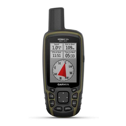 Navegador MAP 65S, GPS, GLONASS, Galileo, QZSS e IRNSS, cartografía con cobertura sudamericana, 16GB