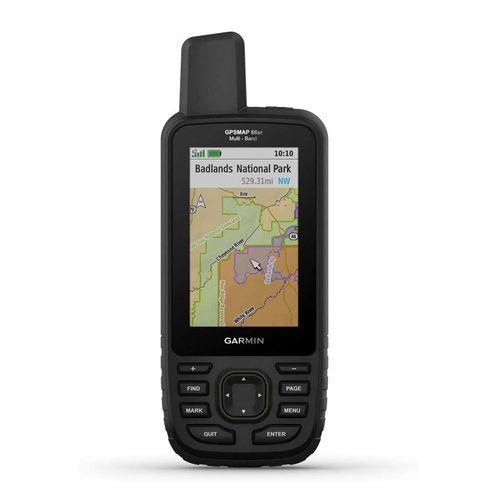 Navegador GPS y glonass Garmin MAP 66Sr cartografía TopoActive sudamericana, 16GB, 36 horas
