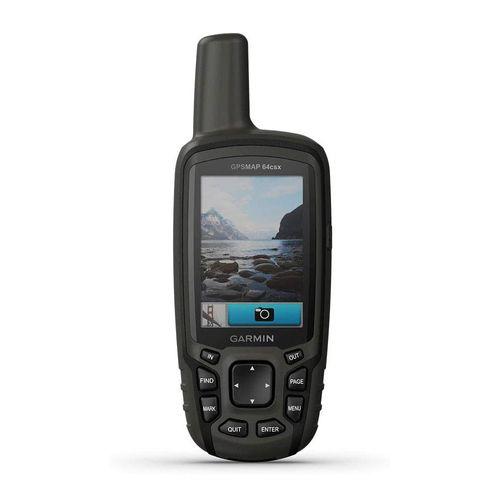 Navegador MAP 64Csx, GPS, GLONASS y Galileo, cartografía preinstalado Peruana, cámara 8MP, 8GB