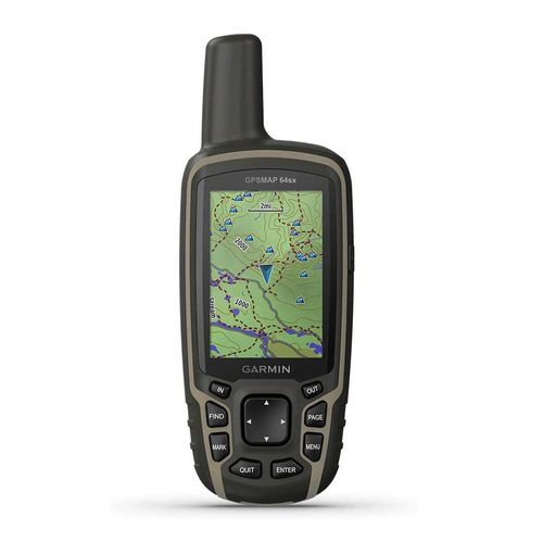 Navegador MAP 64Sx, GPS, GLONASS y Galileo, cartografía con cobertura sudamericana, 8GB