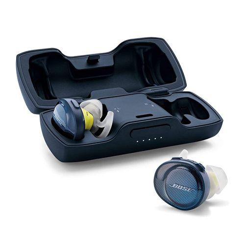 Audífonos Inalámbricos SoundSport Free deportivos resistentes al agua y sudor IPX4, con una sola carga funcionarán por hasta cinco horas, color Navy