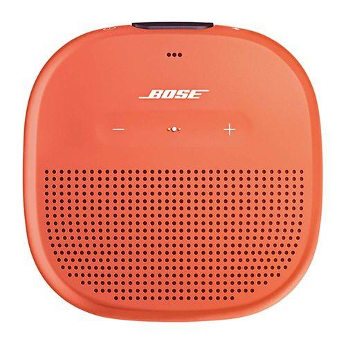 Parlante Soundlink Micro, conectividad bluetooth, resistente al agua IPX7, duración de batería hasta 6 horas, Naranja
