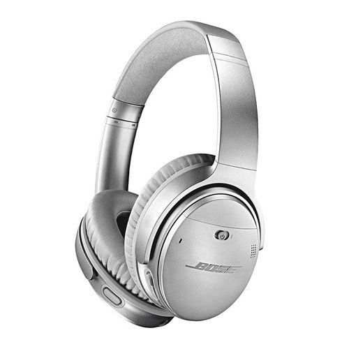 Audífono con cancelación de ruido Bose Quietcomfort 35 II micrófono incorporado, máx. 20 horas, control de música y llamadas, silver